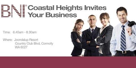 2019 BNI Coastal Heights Breakfast Registration tickets