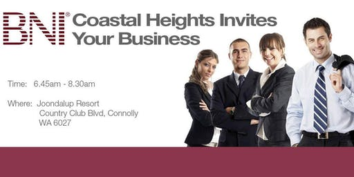 2019 BNI Coastal Heights Breakfast Registration