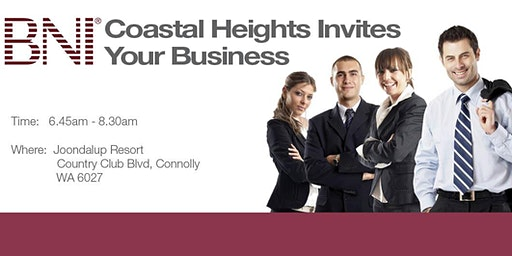 BNI Coastal Heights Breakfast Registration