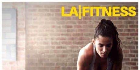 LA FITNESS | Enjoy Exercise Daily! Zero Initiation! tickets