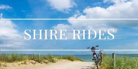 Shire Ride : Wolli Creek to Centennial Park, return tickets