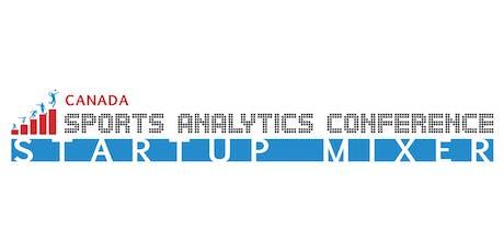 Canada Sports Tech Startup Mixer 2019 tickets