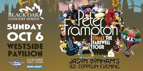 PETER FRAMPTON FINALE with Jason Bonham tickets