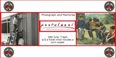 Pestalozzi Photographs and Memories night