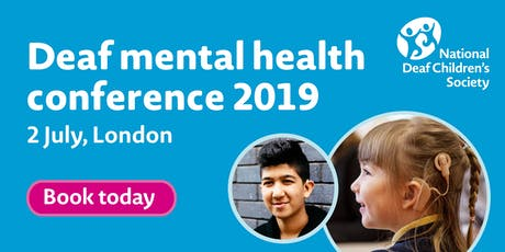 Deaf mental health 2019 - Conference Delegate Registration tickets