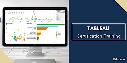 Tableau Certification Training in Clarksville, TN