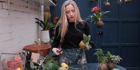 Make a Kokedama (Japanese hanging garden) with an Interior Stylist tickets