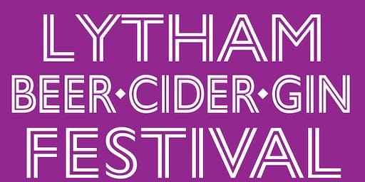 Lytham Beer, Cider & Gin Festival - June 2019!