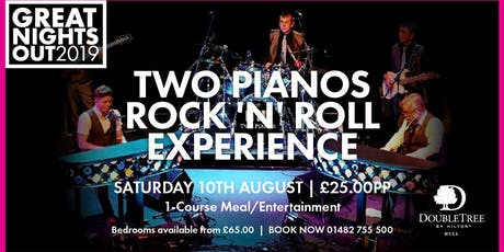 Two Pianos Rock 'N' Roll Experience tickets