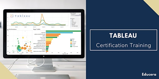 Tableau Certification Training in Greenville, NC