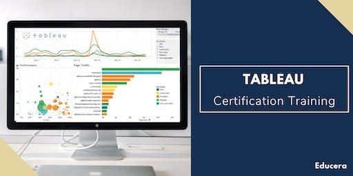 Tableau Certification Training in Fayetteville, NC