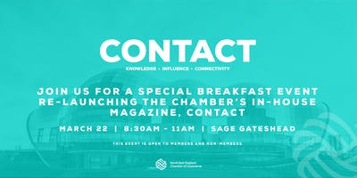Chamber Contact Magazine: Re-launch Breakfast