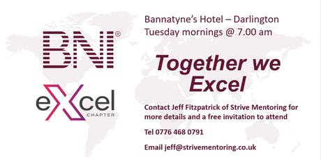 Business Networking International (BNI) tickets