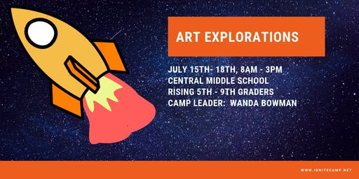 Ignite Camp 2019 - Art Explorations