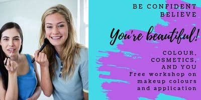 FREE Makeup Workshop - Colour, Cosmetics and You (£5 deposit returned)