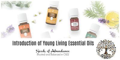Introduction to Young Living Essential Oils - Dieppe, NB