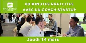 60 mn gratuites avec un coach startup