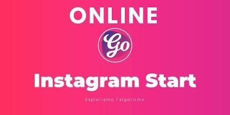Corso Instagram Online biglietti