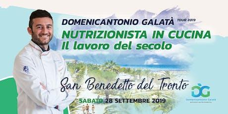 NUTRIZIONISTA IN CUCINA: IL LAVORO DEL SECOLO a San Benedetto del Tronto biglietti