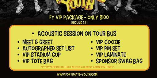 FY VIP PACKAGE 2019 - UTICA, NY