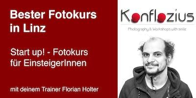 Start up! - Fotokurs für EinsteigerInnen (5-teiliger Kurs)
