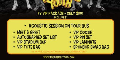 FY VIP PACKAGE 2019 - MYRTLE BEACH, SC