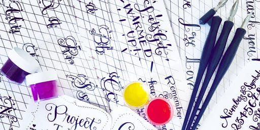 PROVIDENCE Modern Calligraphy Workshop for Beginners