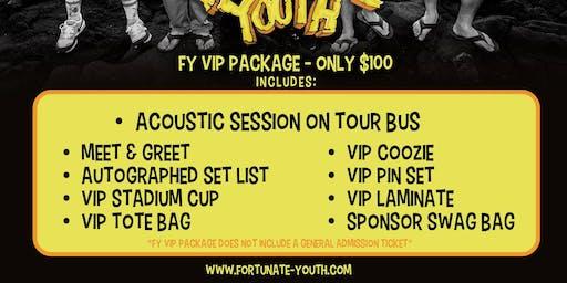 FY VIP PACKAGE 2019 - IRVINE, CA