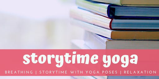 Storytime Yoga:  Fun-filled class perfect for toddlers & preschoolers!