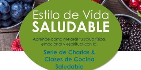 Estilo de Vida Saludable: Serie de Charlas & Cocina Saludable  tickets