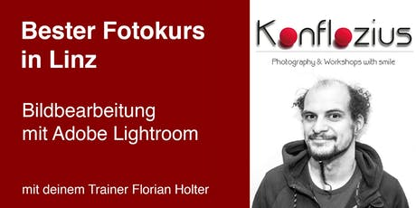 Bildbearbeitung mit Adobe Lightroom Tickets