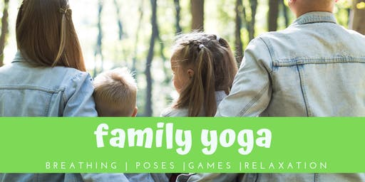 Family Yoga:  Breathe, Practice Poses, Engage, and Relax with Your Kids