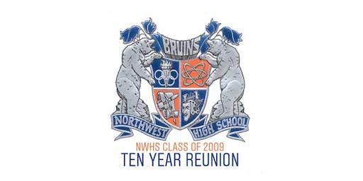 NWHS Class of 2009 10 year reunion