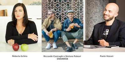 Masterclass SCRIVERE DI CIBO con Roberta Schira, Gnambox e Paolo Vizzari