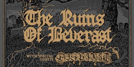 The Ruins of Beverast, Dispirit, Apprentice Destroyer tickets