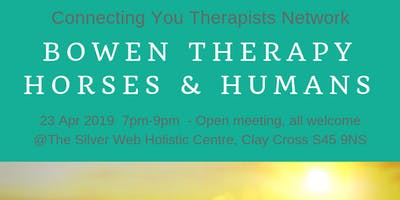 Connecting You Therapists Network 23 Apr 19