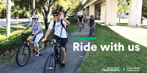 The Underline Cycling Club Ride to Fairchild Ramble