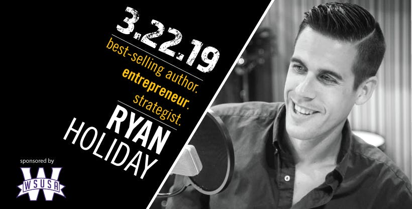 OUTDOOR WEBER: Ryan Holiday Keynote + After P