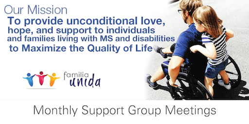 Monthly Support Group Meeting - Living with A Disability
