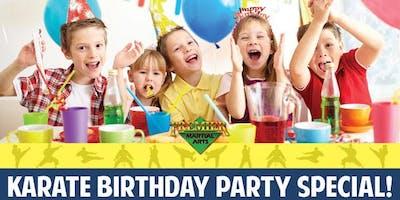PMA Birthday Parties