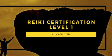 Reiki Certification - Level 1 - Sliding Scale tickets
