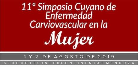 11º Simposio Cuyano de Enfermedad Cardiovascular en la Mujer entradas