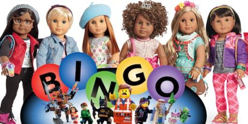 American Girl Doll & Lego Bingo