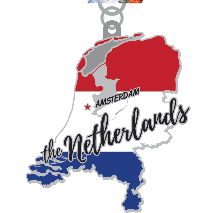 Race Across the Netherlands 5K, 10K, 13.1, 26.2 -Boston