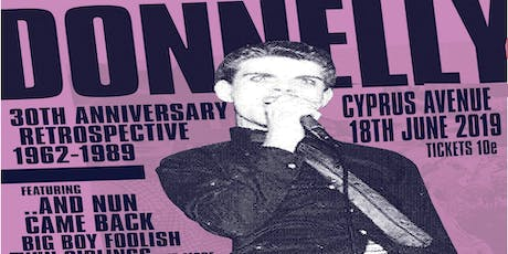 Donnelly - 30th Anniversary Retrospective tickets
