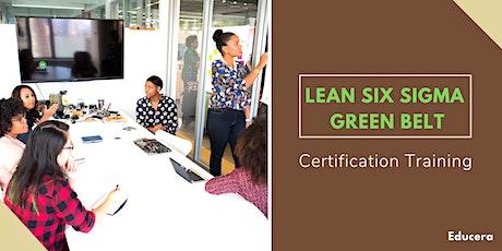 Lean Six Sigma Green Belt (LSSGB) Certification Training in Laredo, TX tickets