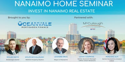 Nanaimo Home Seminar - Invest in Nanaimo Real Estate