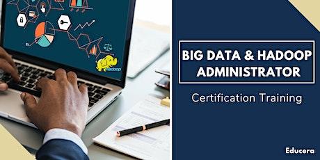 Big Data and Hadoop Administrator Certification Training in Burlington, VT tickets