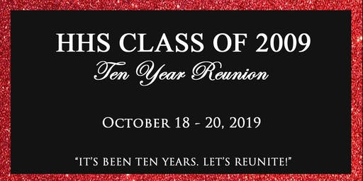 HHS Class of 2009 Reunion