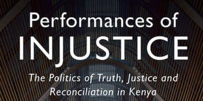 Performances of Injustice: A Book Talk w/ Gabrielle Lynch
